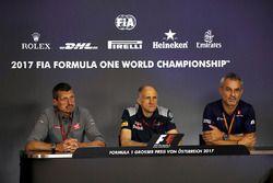 Guenther Steiner, Team Principal Haas F1 Team, Franz Tost, Team Principal Scuderia Toro Rosso e Beat