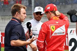 Davide Valsecchi, Sky Italia, Lewis Hamilton, Mercedes AMG F1, Sebastian Vettel, Ferrari