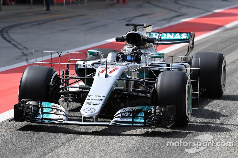 Датчики на Mercedes F1 W08
