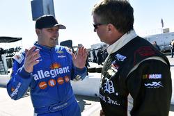 Johnny Sauter, GMS Racing, Chevrolet; Joe Nemechek, SWM-NEMCO Motorsports, Chevrolet