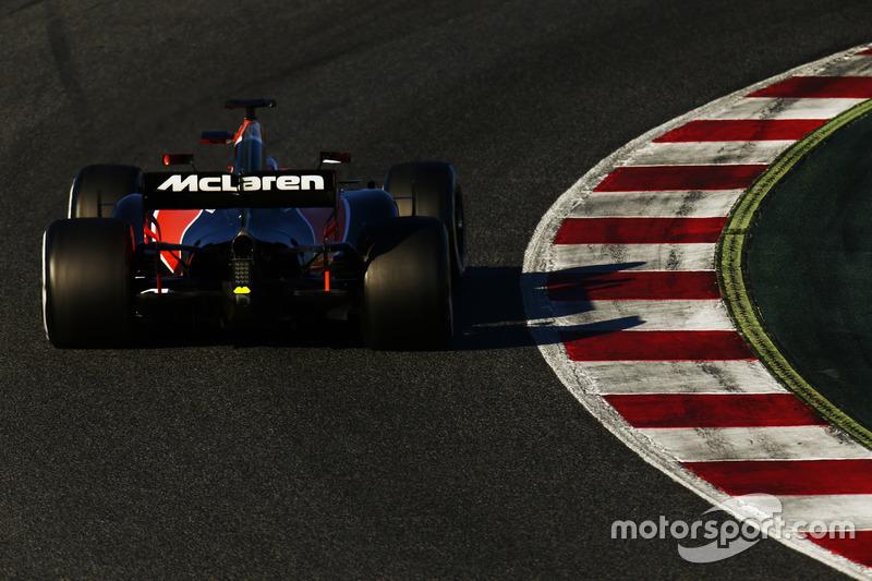 Mercredi : Fernando Alonso, McLaren