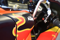 Red Bull KTM Ajo Moto3 bike