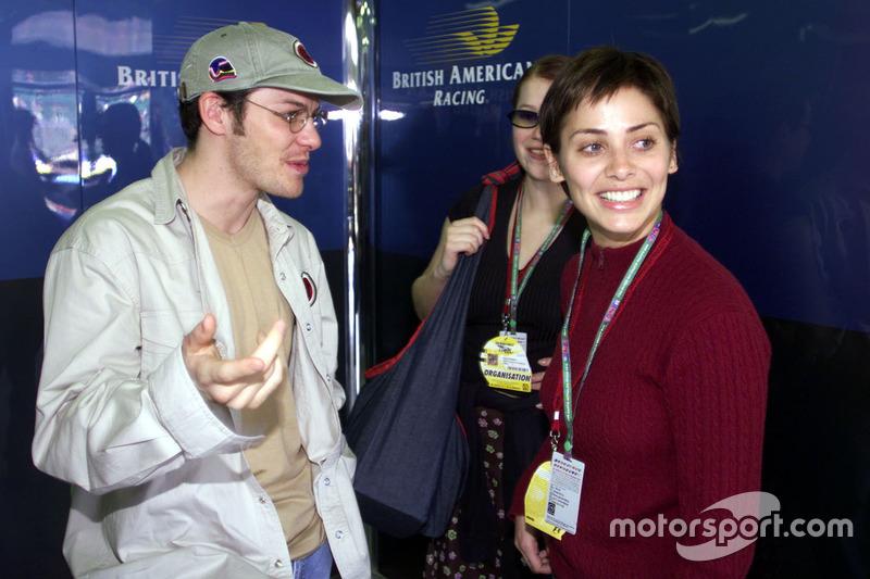 Jacques Villeneuve, BAR, Natalie Imbruglia