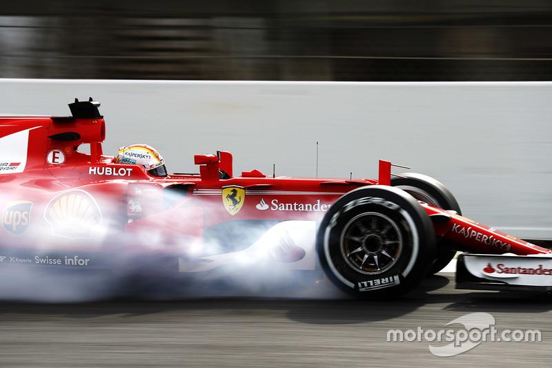 Mercredi : Sebastian Vettel, Ferrari