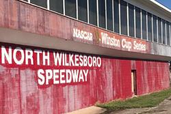 Der stillgelegte North Wilkesboro Speedway