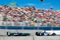 Adam Carroll, Jaguar Racing,Antonio Felix da Costa, Amlin Andretti Formula E Team