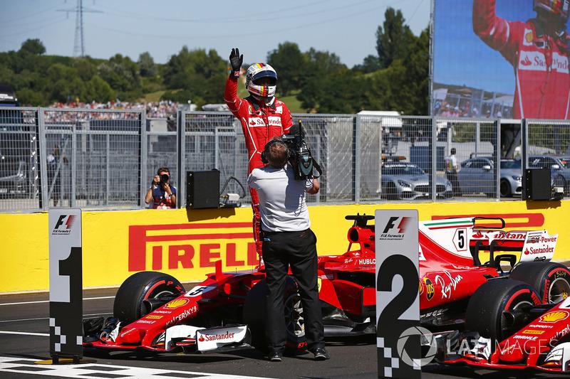 Pole: Sebastian Vettel, Ferrari