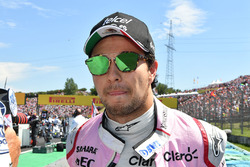 Sergio Pérez, Force India en la parrilla