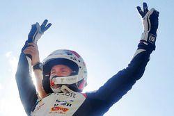 Le vainqueur Esapekka Lappi, Toyota Racing