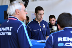 Владелец Renault e.Dams Жан-Поль Дрио и гонщик Себастьен Буэми