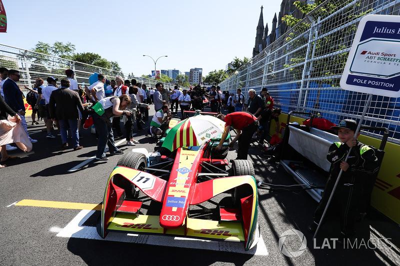 Lucas di Grassi, ABT Schaeffler Audi Sport en la parrilla