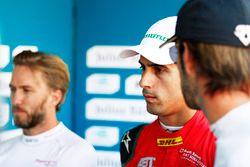 Nick Heidfeld, Mahindra Racing, Lucas di Grassi, ABT Schaeffler Audi Sport, Jean-Eric Vergne, Techee