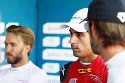 Ник Хайдфельд, Mahindra Racing, Лукас ди Грасси, ABT Schaeffler Audi Sport, и Жан-Эрик Вернь, Techeetah