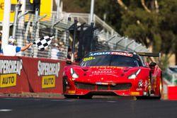 Race winners #88 Maranello Motorsport, Ferrari 488 GT3: Toni Vilander, Craig Lowndes, Jamie Wincup