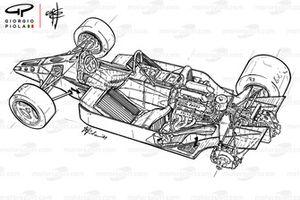 McLaren MP4-2 1984 detalle
