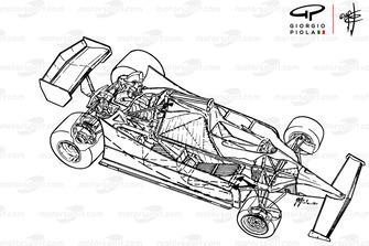 Ferrari 312T5 1980, panoramica dettagliata