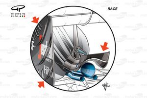 McLaren MP4-31, monkey seat (specifica standard come indicato)