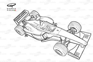Minardi M01 1999 overview