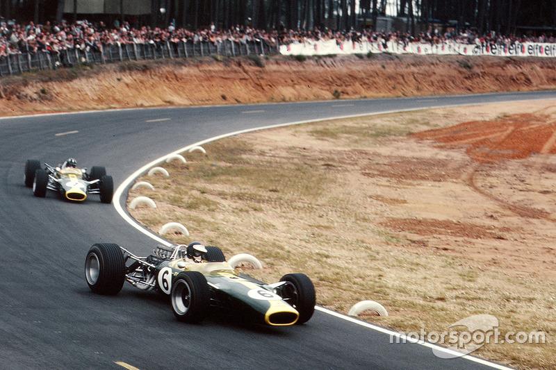 Jim Clark, Team Lotus 49 Ford, Graham Hill, Team Lotus 49 Ford