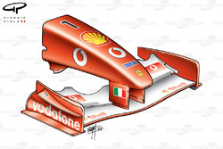 Ferrari F2001 (652) 2001 Brazil nose