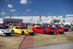 Ferrari in esposizione