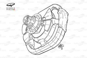 BAR 003 steering wheel (Panis)