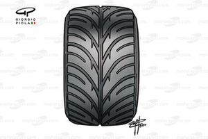 Bridgestone intermediate tyre