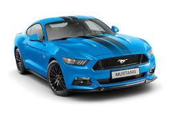 Ford Mustang Blue trim