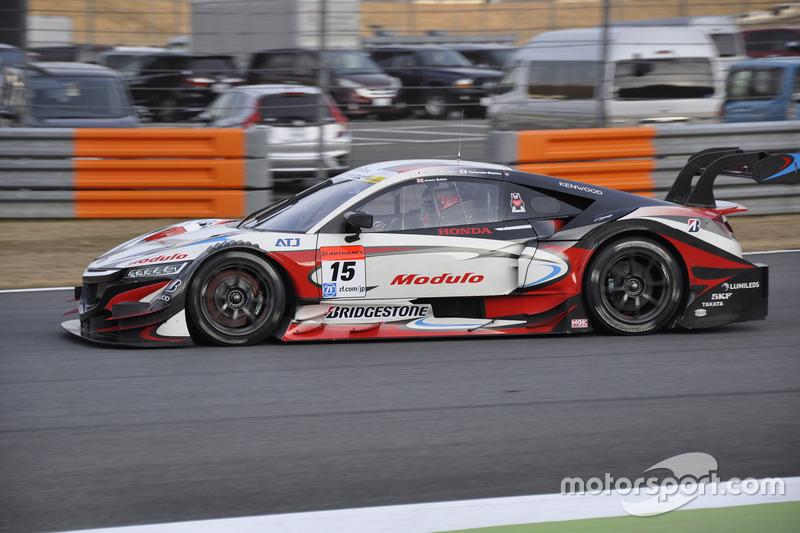 #15 ドラゴ モデューロ NSX CONCEPT-GTに乗るジェンソン・バトン