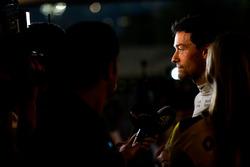 Jolyon Palmer, Renault Sport F1 Team avec les médias