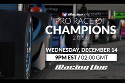 La course des champions d'iRacing