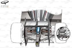 Comparaison de suspensions arrière de la McLaren MP4-30