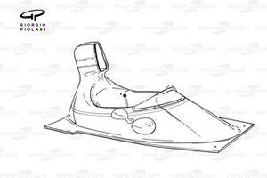 Carrosserie de la Ferrari 312T