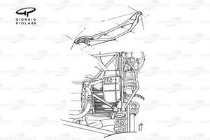 McLaren M23 1974 rear-end assembly side view