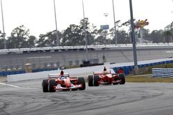 Ferrari F2001B et la Ferrari F399