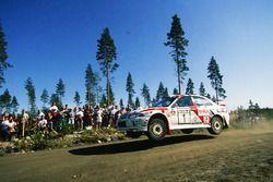 Tommi Mäkinen, Seppo Harjanne, Ralliart Mitsubishi Lancer Evo4