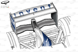Williams FW26 rear wing