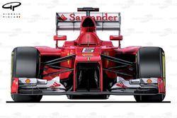 Ferrari F2012 front view