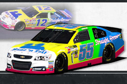 Throwback-Design: Derrike Cope, Premium Motorsports Toyota