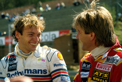 Stefan Bellof, Tyrrell Racing et Manfred Winkelhock, ATS