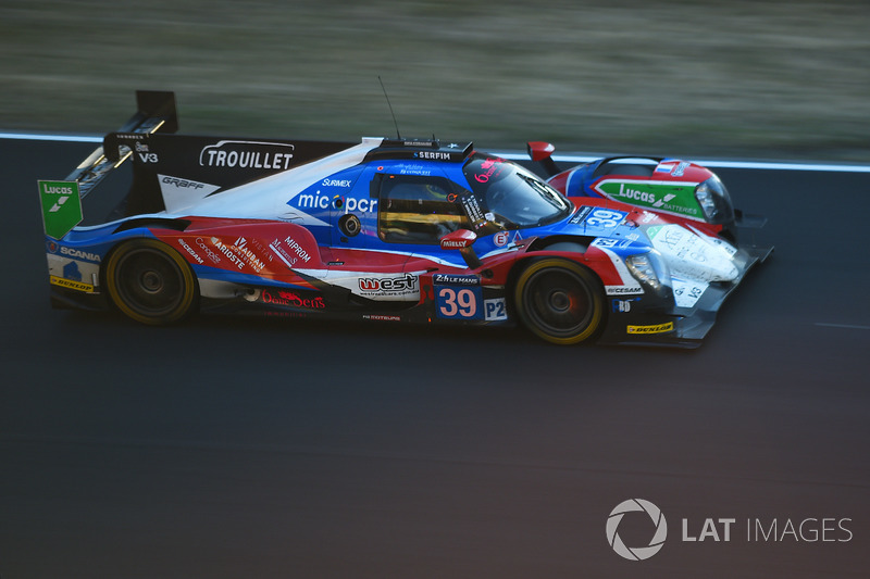 21. Энцо Джибберт, Эрик Труайе, Джеймс Уинсло, Graff Racing, Oreca 07 (№39)