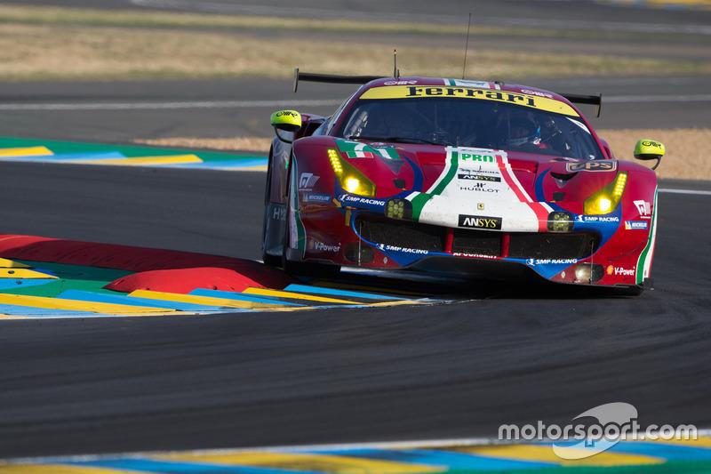 35. №71 AF Corse Ferrari 488 GTE: Давиде Ригон, Сэм Бёрд, Мигель Молина