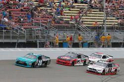 Denny Hamlin, Joe Gibbs Racing Toyota Brad Keselowski, Team Penske Ford Ty Dillon, Richard Childress