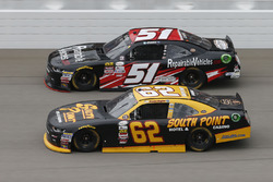 Brendan Gaughan, Richard Childress Racing Chevrolet Jeremy Clements, Jeremy Clements Racing Chevrole