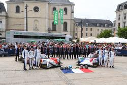#40 Graff Racing Oreca 07 Gibson: James Allen, Franck Matelli, Richard Bradley, #39 Graff Racing Oreca 07 Gibson: Enzo Guibbert, Eric Trouillet, James Winslow
