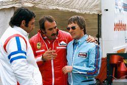 Clay Regazzoni e Bernie Ecclestone