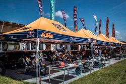 Team area Red Bull KTM Factory Racing