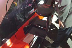 Toyota Yaris WRC Plus, specchietto retrovisore