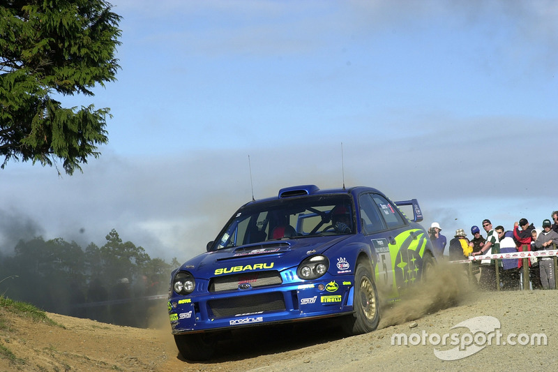 2001: Richard Burns, Subaru Impreza WRC