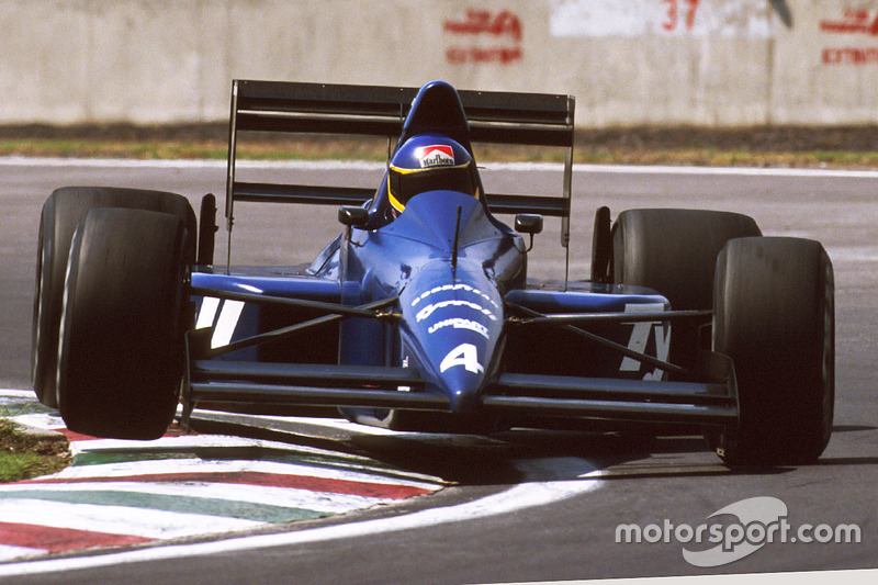 Tyrrell 018, con motor Ford Cosworth (1989)